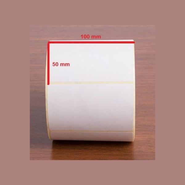 تصویر برچسب کاغذی ۵۰ × ۱۰۰