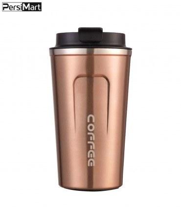 تصویر ماگ سفری طرح coffee گنجایش 0.510 لیتر