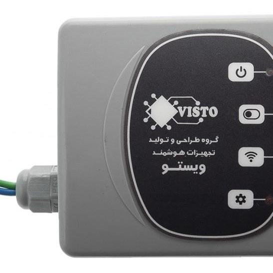 تصویر سیستم هوشمند کنترل از راه دور پیامکی ویستو مناسب برای آبیاری و کنترل وسایل مدل تک خروجی (EC01)