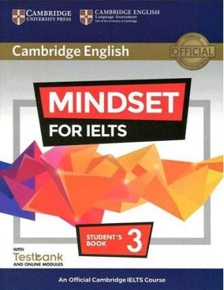 تصویر کتاب زبان Cambridge English Mindset For IELTS 3 Student Book  Cambridge English Mindset For IELTS 3 Student Book