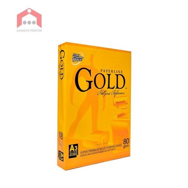 image کاغذ A3 گلد gold A3 paper Gold A3 Paper