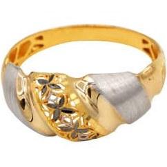 انگشتر طلا 18 عیار زنانه دارینا مدل 0611.1.02.7015