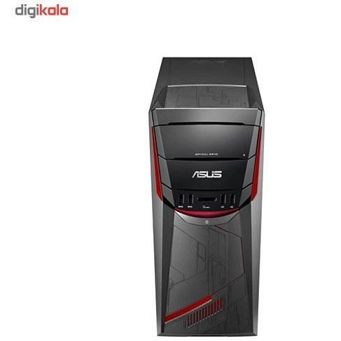 تصویر کامپیوتر دسکتاپ مخصوص بازی ایسوس مدل G11CB-BH001D کیس آماده و نیمه آماده ایسوس G11CB-BH002D i7 8GB 1TB+8GB SSD 2GB Gaming Desktop Computer