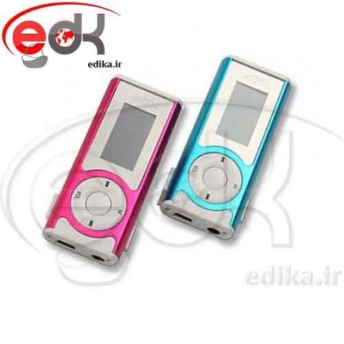 تصویر ام پی تری LCD دار و رم خور دارای چراغ قوه MP3 Player