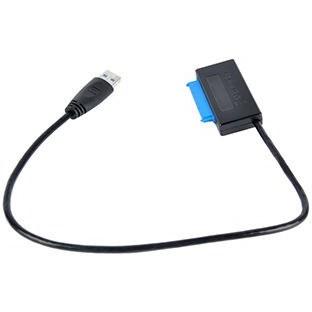 تصویر کابل تبدیل ساتا به USB 3.0 برای هارد 2.5 اینچ و 3.5 اینچی
