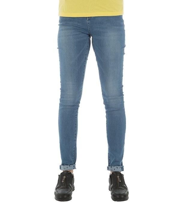 شلوار زنانه جین جذب آبی جین وست Jeanswest