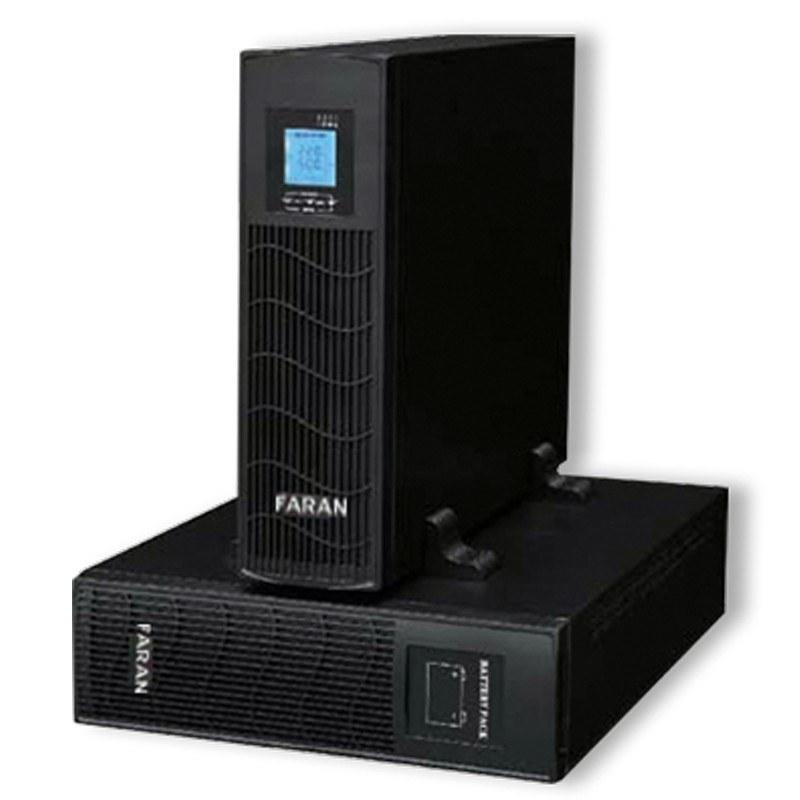 یو پی اس فاران مدل ویگور آر تی ۶KVA/۵۴۰۰w به همراه باتری