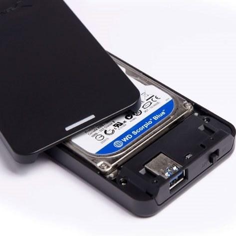 تصویر قاب هارد اکسترنال 2.5 اینچی USB3.0 External HDD Enclosure SATA 2.5 inch USB 3.0