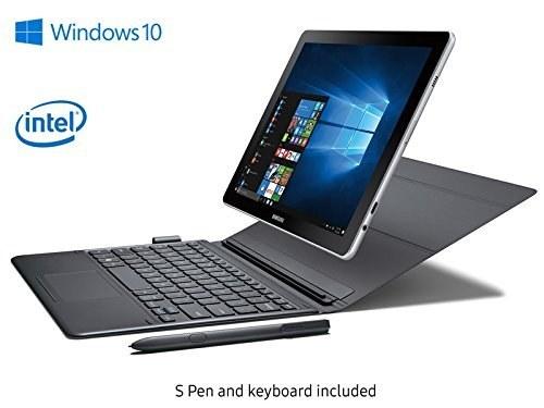 "Samsung Galaxy Book Business 10.6"" FHD 2-in-1 Touchscreen Laptop/Tablet - Intel Core M3-7Y20 1.0GHz, 4GB RAM, 128GB eMMC, WLAN, Webcam, Buit-in GPS, Backlight Keyboard, S Pen included, Win 10 |"