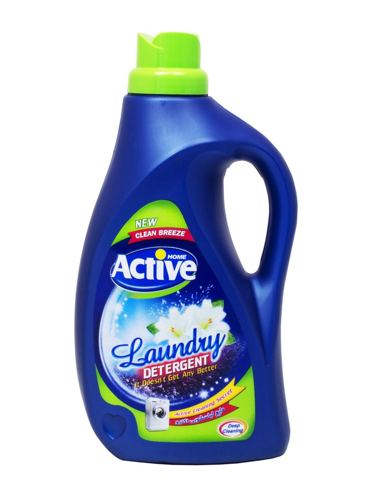 مایع لباسشویی اکتیو 2500 میلی لیتر (درب سبز رنگ) | Active Liquid Laundry Detergent 2500 ml