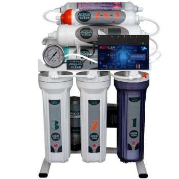 تصویر دستگاه تصفیه کننده آب آکوآ کلیر مدل NEWDESIGN 2020 - IAFQ10 به همراه فیلتر مجموعه 4 عددی