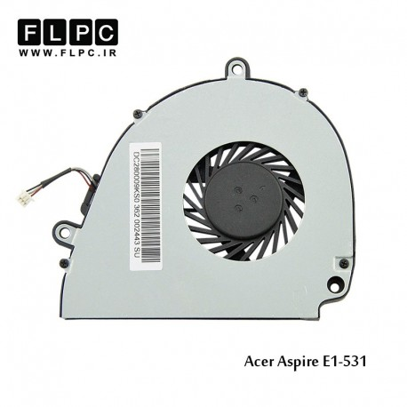 تصویر فن لپ تاپ ایسر E1-531 حلزونی Acer Aspire E1-531 Laptop CPU Fan