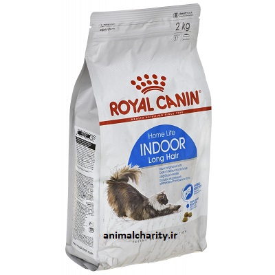 غذای خشک رویال کنین ایندور گربه بالغ داخل خانه  royal canin indoor longhair