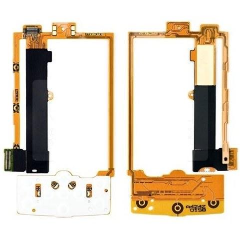 تصویر فلت وسط گوشی  Flex Cable Nokia X3-00   LT