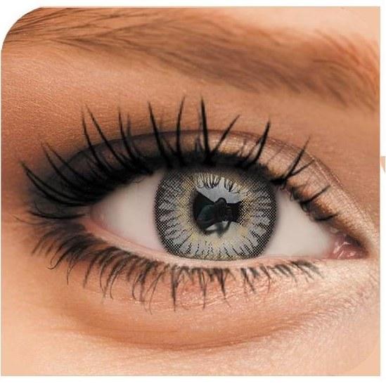 تصویر لنز چشم رنگی لاکی لوکی مدل Gray 2 Lucky Look Beauty Soft Contact Lenses