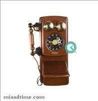 تصویر تلفن دیواری چوبی مایر کد HT8705