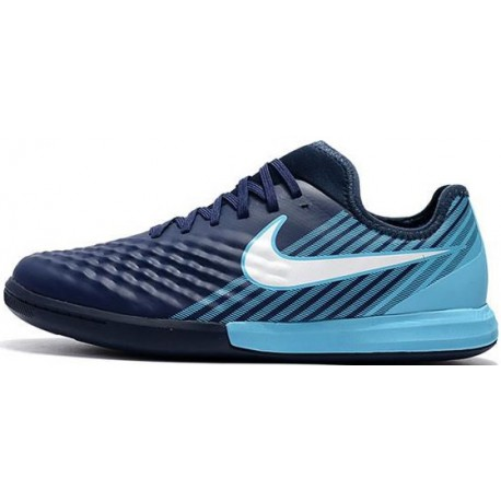 کفش فوتسال نایک مدل Nike MagistaX Finale II IC Blue White Blue