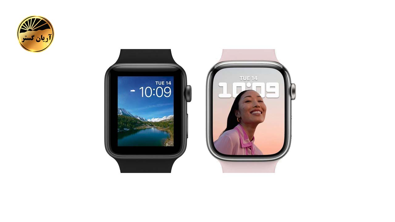 تصویر ساعت هوشمند اپل  SE 7 Aluminum 44