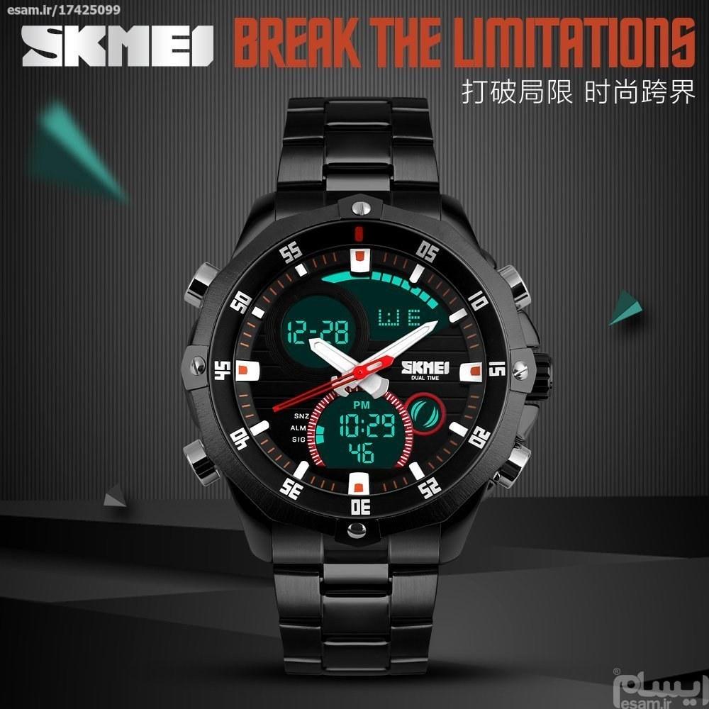 ساعت اسکمی skmei دو زمانه ضدآب اورجینال کدفروش 086