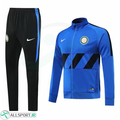 گرمکن شلوار اینترمیلان آبی Inter Milan Training Tracksuit Blue 2019-20