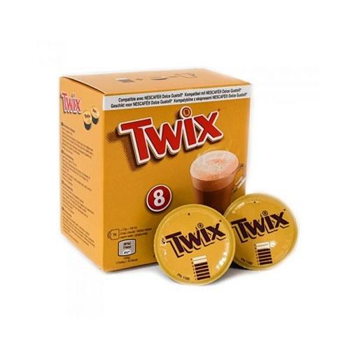 تصویر کپسول هات چاکلت دولچه گوستو Twix بسته 8 عددی Twix Dolce Gusto Hot Chocolate Pods
