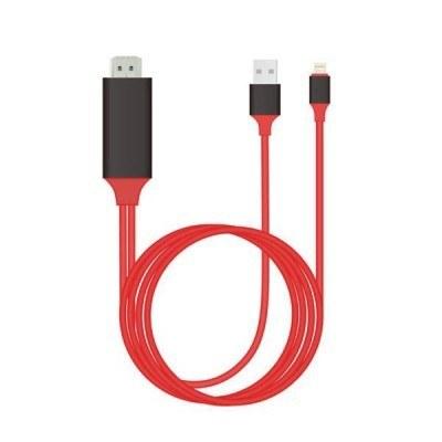 تصویر کابل HDMI لایتنینگ اورجینال ارلدام برای اتصال به تلویزیون و نمایشگر (کابل Lighting به HDTV) مدل Earldom ET-W5