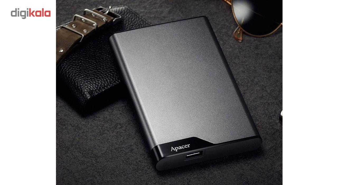 تصویر هارد اکسترنال اپیسر مدل AC632 ظرفیت 1 ترابایت Apacer AC632 External Hard Disk 1TB