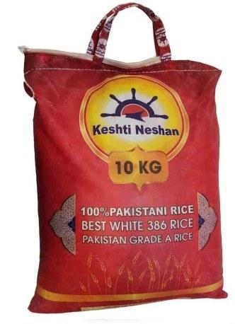 برنج پاکستانی کشتی نشان 386 ،10 کیلویی