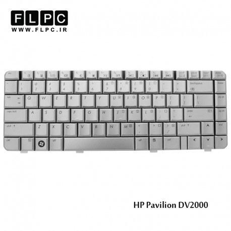 تصویر کیبورد لپ تاپ اچ پی HP Pavilion DV2000 Laptop Keyboard نقره ای