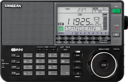Sangean ATS-909X BK AM/FM/LW/SW World Band Receiver - Black |