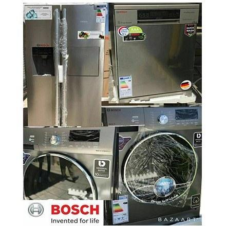تصویر ست سیلور بوش (یخچال فریزر – ماشین لباسشویی – ماشین ظرفشویی )