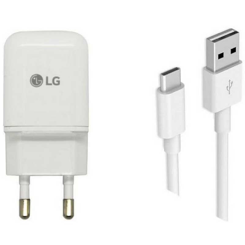 image شارژر اصلی ال جی همراه کابل LG Travel Charger Adapter MCS-N04WD Type C