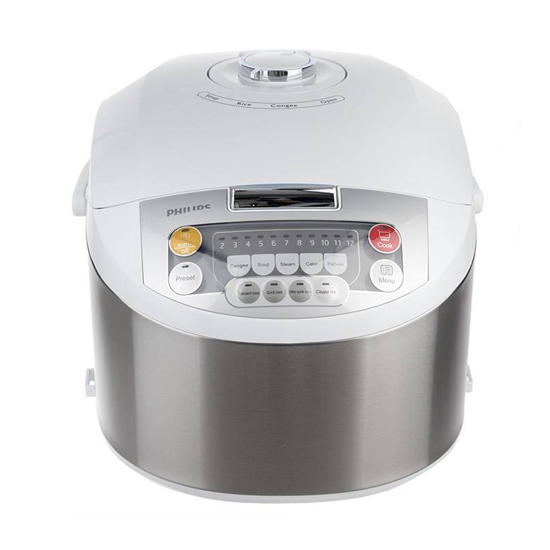 main images پلوپز فيليپس مدل HD3038 Philips HD3038 Fuzzy Logic Rice Cooker
