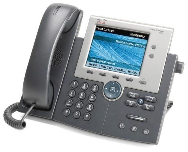 تصویر IP Phone Cisco CP-7945G تلفن تحت شبکه سیسکو CP-7945G