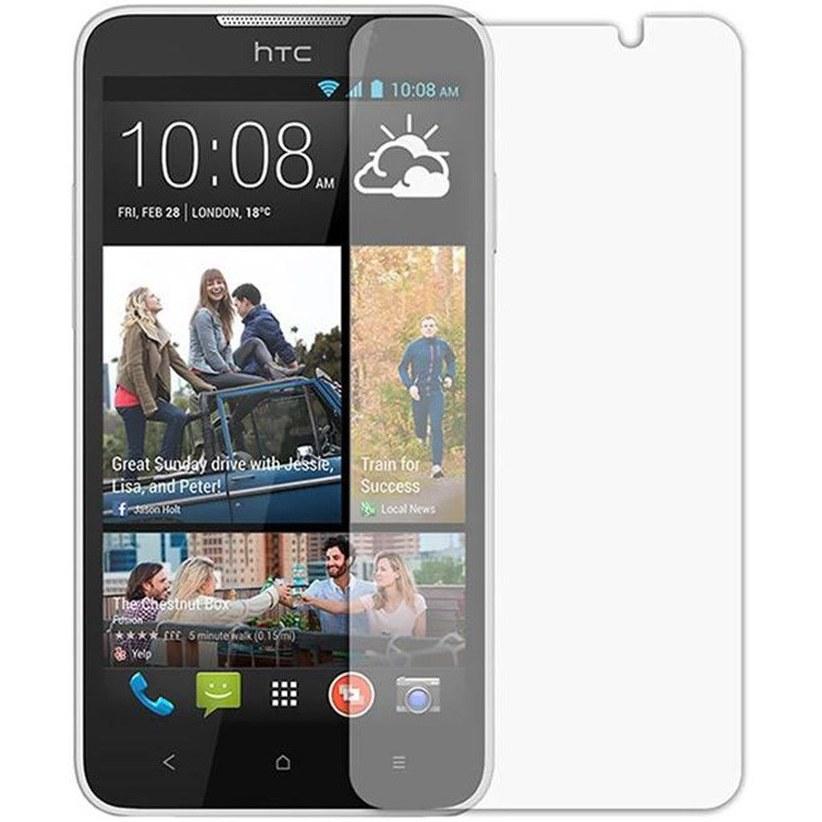 تصویر محافظ صفحه نمایش شیشه ای مناسب برای گوشی موبایل اچ تی سی Desire 516