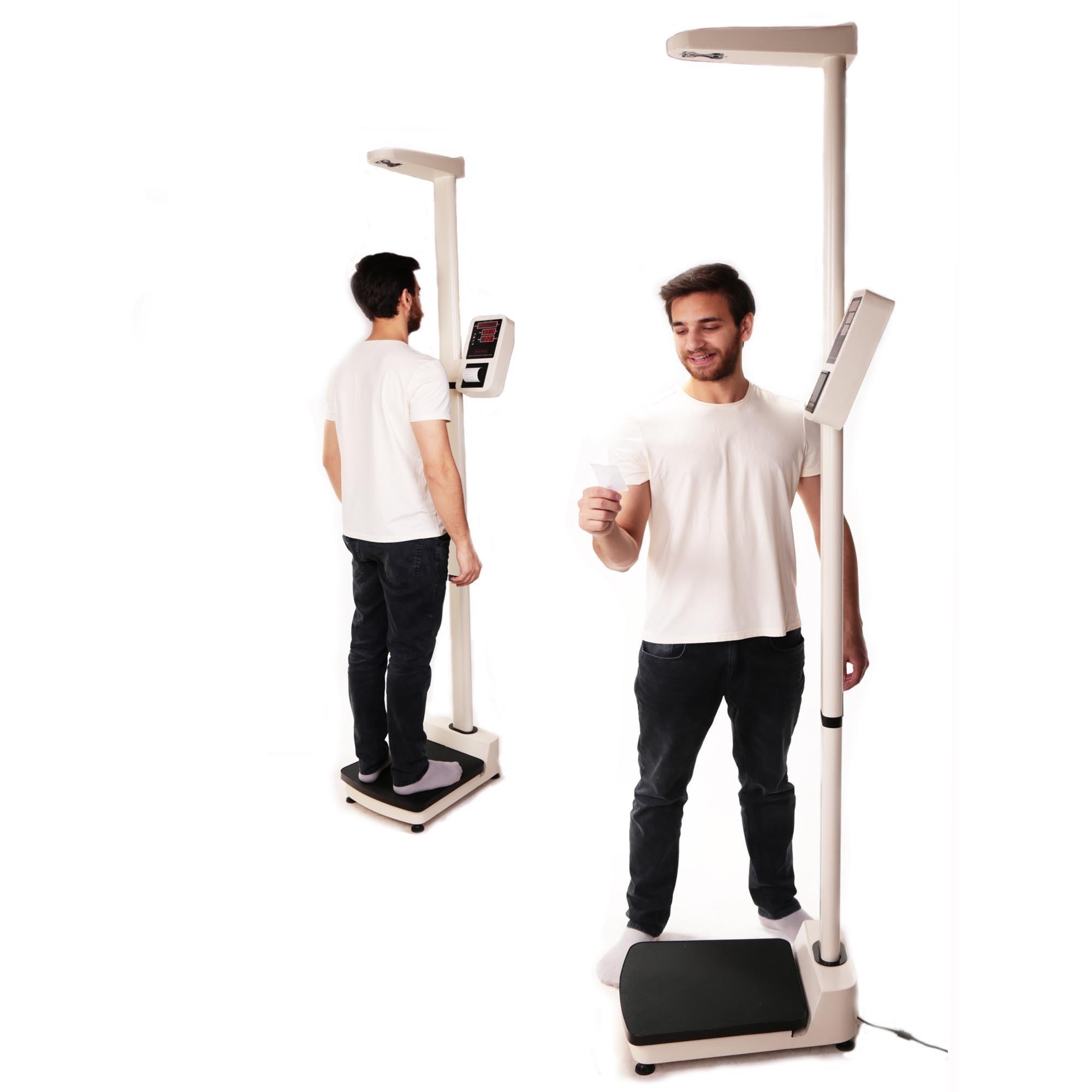 تصویر ترازوی قد و وزن بادی اسکیل مدل BS 286 Body Scale Height and Weight Scale BS 286