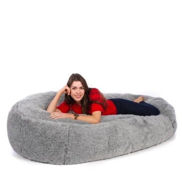 تصویر مبل شنی تخت خواب شو یک نفره
