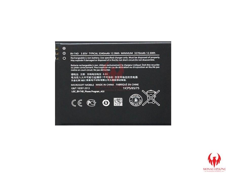 تصویر باتری مدل BV-T4D مناسب برای گوشی موبایل مایکروسافت Lumia 950XL BV-T4D Battery For Microsoft  Lumia 950XL
