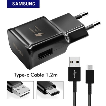 شارژر اورجینال SAMSUNG S8 | SAMSUNG S8 Travel Adapter With USB Type-C Cable