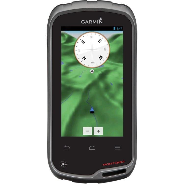 جی پی اس دستی گارمین مانترا با صفحه نمایش لمسی | Garmin MONTERRA 010-01065-00 Worldwide Handheld GPS Navigator