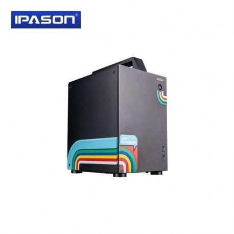 تصویر کامپیوتر گیمینگ مدل IPASON Gaming Desktop Computer Intel i5 9400F RTX2060 6G DDR4 8G 480G SSD Gaming