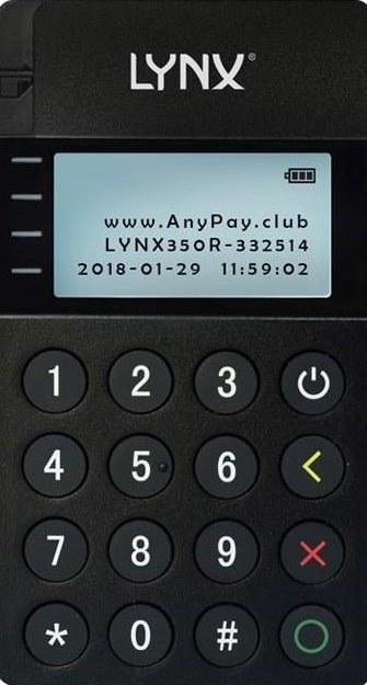 پایانه فروش سیار -موبایل پوز لینکس مدل 350R | Mobile POS LYNX-350R