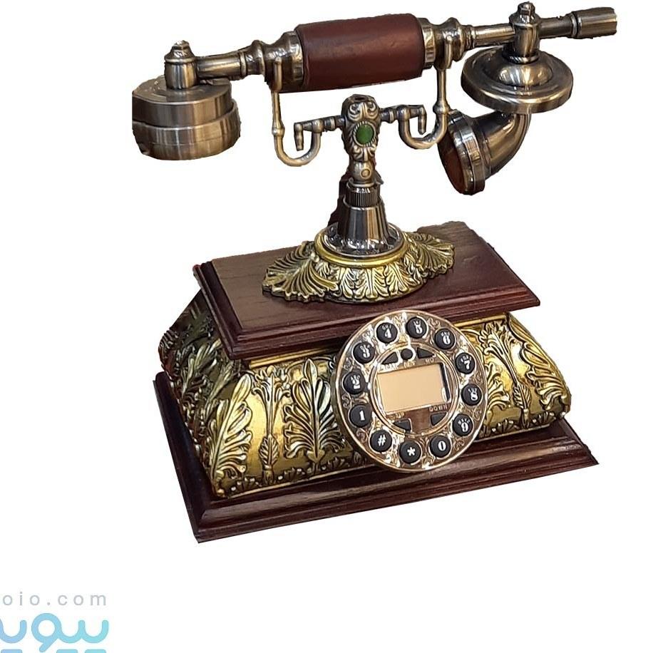 تصویر تلفن سلطنتی آنتیک کلاسیک