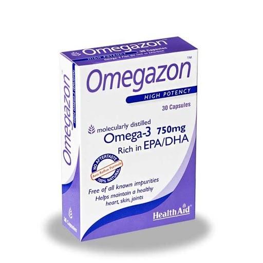 تصویر کپسول امگازون هلث اید Omegazon