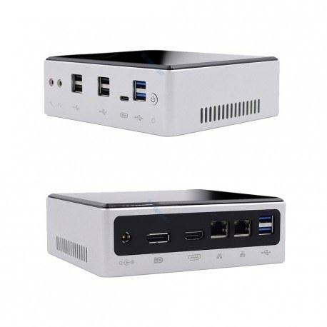 تصویر مینی باکس اداری رومیزی خانگی Core i7-8559U DDR4 دارای فن مدل KC5605