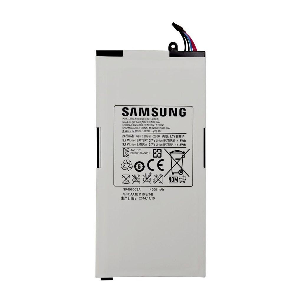 تصویر باتری اورجینال تبلت سامسونگ SP4960C3A ظرفیت 4000 میلی آمپر ساعت Samsung SP4960C3A 4000mAh Original Tablet Battery