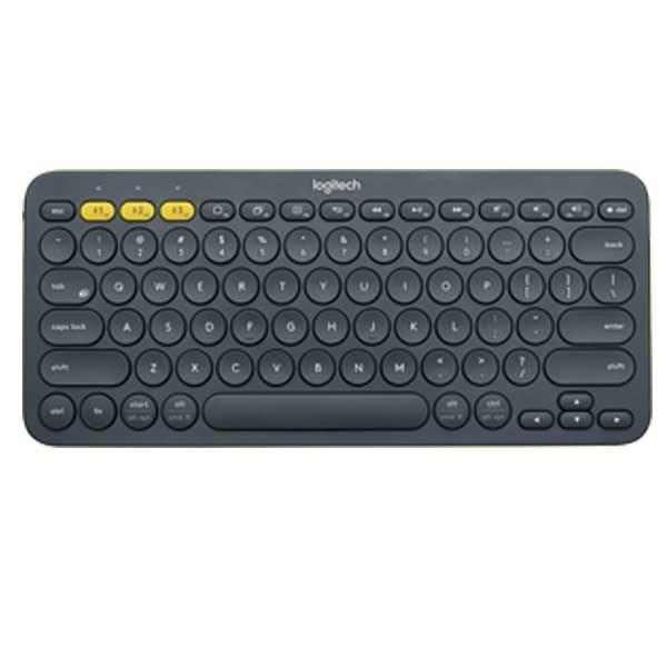 تصویر کیبورد بلوتوث لاجیتک K380 Blue ا Logitech K380 Multi-Device Bluetooth Keyboard Logitech K380 Multi-Device Bluetooth Keyboard