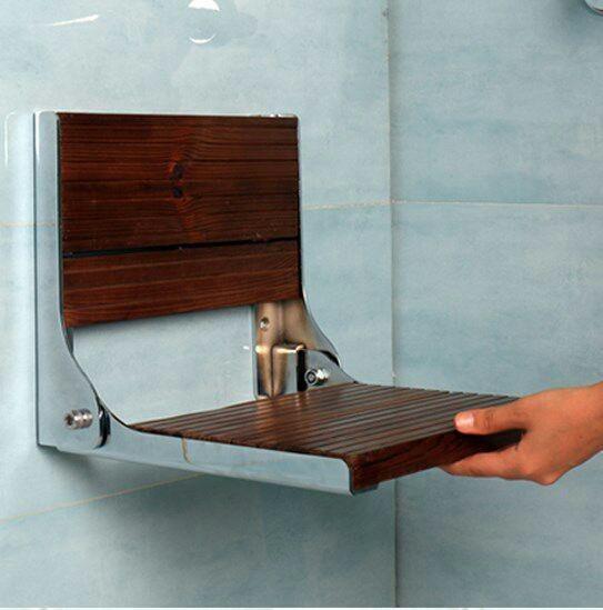تصویر صندلی حمام تاشو استیل ترمووود