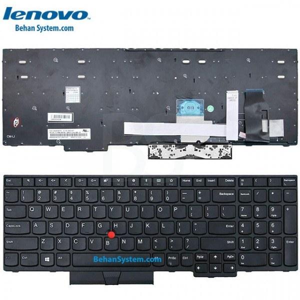 تصویر کیبورد لپ تاپ LENOVO ThinkPad E580