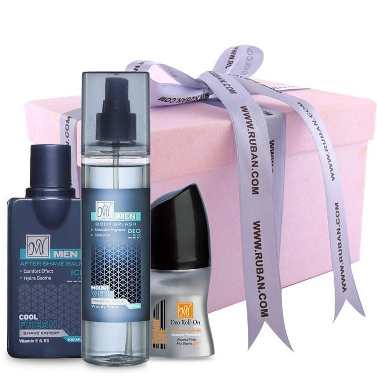 تصویر پک کادویی آقایان با محصولات مای my Gift Pack
